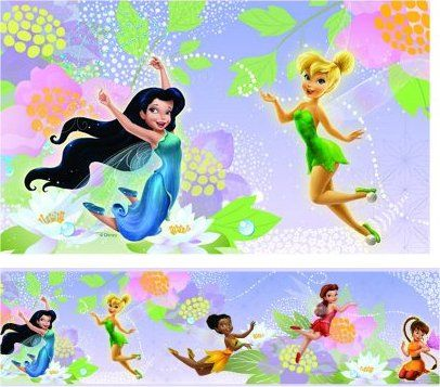 Bordura Disney Víly. Bordury Fairies